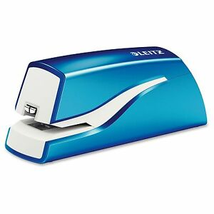 Leitz Nexxt Electric Stapler 10 Sheets Capacity 4 X Aa ltz55667036