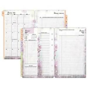Franklin Covey Blooms Daily 2ppd Planner Refills 3544