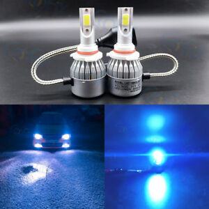 New 9005 Hb3 8000k Ice Blue 8000lm Cree Led Headlight Bulbs Kit High Low Beam