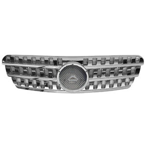 Front Grilles Grill For Mercedes Benz W163 Ml430 Ml320 Ml500 Ml350 98 05 Chrome