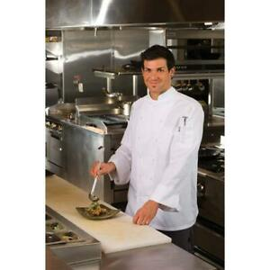 Chef Works Monza Chef Coat Jacket White All Sizes