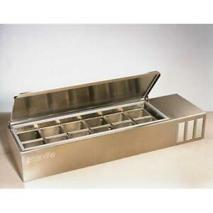 Silver King Skps12 c1 56 3 4 In Refrigerated Countertop Prep Unit