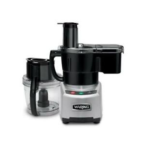 Waring Wfp16scd Food Processor W 4 Qt Batch Bowl And Continuous Feed