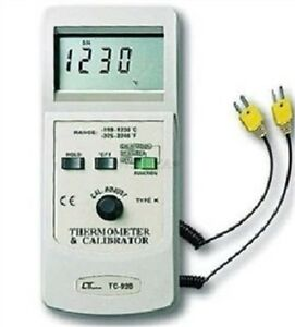Tc 920 Thermocouple Thermometer Calibrator Temperature Process Calibrate Lutr Hy