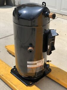 Emerson Copeland Scroll Zr380kce ted 250 Compressor 30hp 3ph 460v minor Damage