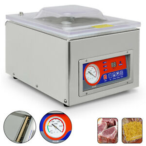 Dz 260c 120w Commercial Vacuum Packing Sealing Machine Vac Packer Food Sealer