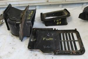 Ford Cab Vents Duct Work 1976 F 600 Heavy Truck Ratrod