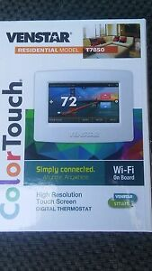 Venstar T7850 Digital Thermostat Residential Color Touch Model Wi fi