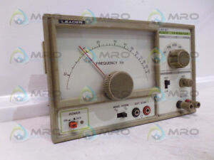 Leader Lag 27 Audio Generator as Pictured used