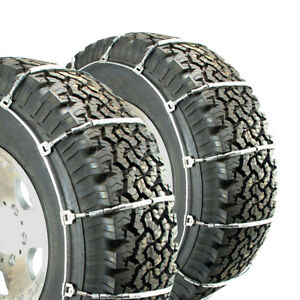 Titan Light Truck Cable Tire Chains Snow Or Ice Covered Roads 245 70 19 5