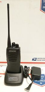 Kenwood Tk 3402u Uhf 450 520 Mhz W battery Charger Gmrs Tested
