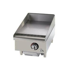 Star 615mf Star max 15 Manual Control Gas Griddle Flat Top Grill