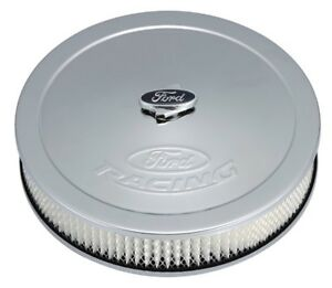 Proform 302 350 Ford Racing Air Cleaner Chrome