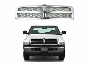 Replacement Chrome Grill For 1994 2001 Dodge Ram Ch1200178 New Free Shipping Usa