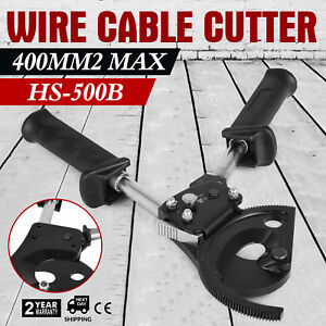 New Ratchet Cable Wire Cutter Cut Up To 400mm2 Ratcheting Wire Cutting Hand Tool