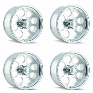 Set 4 15 Ion 171 Polished Wheels 15x8 6x5 5 27mm 6 Lug Rims