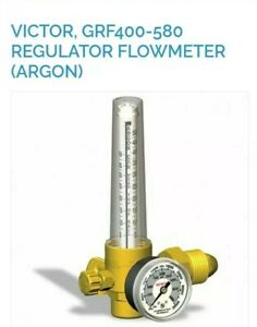 Victor Grf400 580 Oxygen Acetylene Regulators With 10 Ft Of Hose
