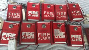 Fci Gamewell Ms 6 Non Coded Fire Alarm Pull With System Sensor S3705 Notifier