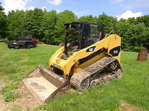 Caterpillar 277c Compact Track Loader Nice 277 Skid Steer Cat