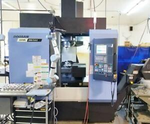 Doosan Dnm 200 5ax 2015 5 axis Tsc Probing 12k Rpm Ct 40 Only 470 Hours