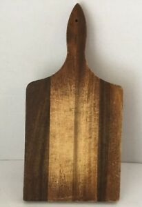 Vintage Cutting Board Primitive Country 14 X 7 Hardwood Wood Bread Dough