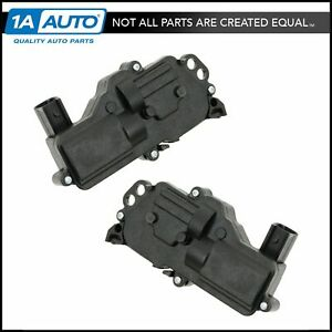 Power Door Lock Actuator Front Rear Pair Set For Ford Lincoln Mercury Truck Suv