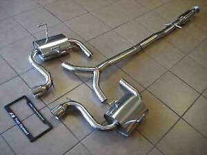 Top Speed Pro 1 Cat Back Exhaust W Polished Tips For 2004 2006 Mini Cooper S