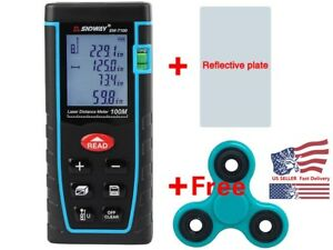 100m 328ft Digital Lcd Laser Distance Meter Range Finder Measure Diastimeter Ko