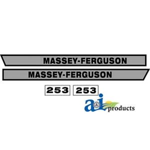 Massey Ferguson 253 Decal Set