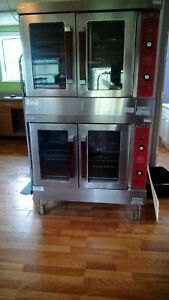 Vulcan Vc4gd 10 Double Deck Commercial Oven