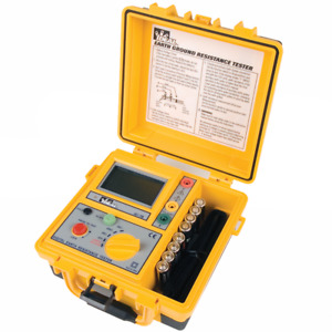 Ideal 61 796 Earth Ground Resistance Tester 3 pole