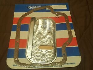 Gm Th400 Transmission Oil Filter Pan Gasket Kit 1967 1990 Sealed Nos