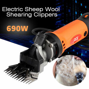 690w Electric Shearing Clippers Shears Sheep Goat Animal Trimmer Farm Machine Us