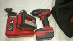 Snap on 18v 3 8 Impact Ct8810a With 2 Batteries Charger Bag