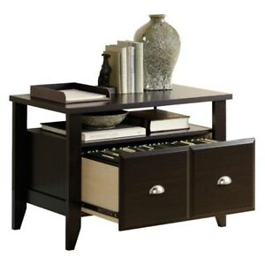 File Cabinet Filing Lateral Wood Utility Side Table Stand Printer Desk Console