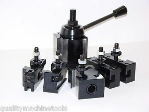 Wedge Type Quick Change Toolpost Set Ca 251 444 Tool Post Free Shipping 14 20
