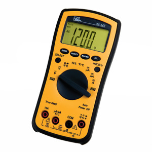 Ideal Electrical 61 342 Test pro Digital Multimeter W trms