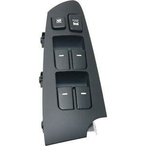 Power Window Switch Front Driver Left Side For 2010 2013 Kia Forte 935701m100wk