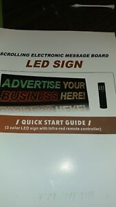 Neon Led Sign Scrolling Electronic Message Board