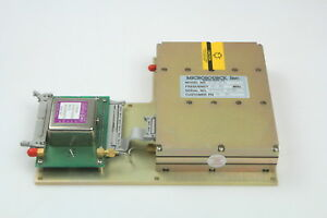Microsource Mts 2000 609 01x Frequency Synthesizer 4350 5550mhz mti Crystal Osci