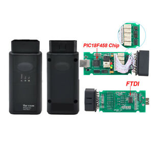 Opcom V1 7 Obd2 Diagnostic Interface For Opel Vauxhall