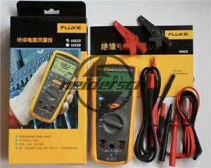 New Fluke Digital Megger Insulation Resistance Tester Meter 1503 F1503