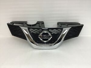2014 2016 Nissan Rogue Front Upper Grille Bumper With Emblem 62310 9ta1a