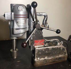 Milwaukee Portomag Magnetic Drill Press 5 8 Super Hole Shooter