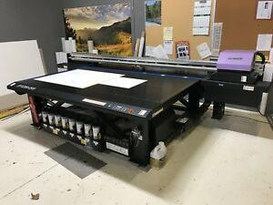 Mimaki Jfx200 213 Wide Format Flatbed Uv Commercial Printer excellent Condition