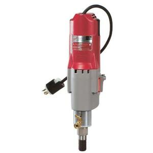 Milwaukee 20 Amp 300 600 Rpm Diamond Coring Motor W Clutch Concrete Hole Drill