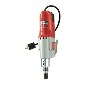 Milwaukee Diamond Coring Motor W Clutch Hole Drill Tool 20 Amp 600 1200 Rpm 4005