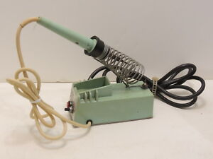 Weller Wtcpl 60 Watt 120 Vac Soldering Station W Holder Tested