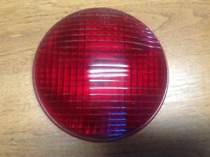 Lqqk Red Glass Arrow 20006 Vintage Tail Lamp Light Lens Early Stop 5 9 16