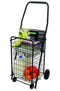 Funky Shopping Trolley Small Foldable Easy Storage Rolling Wheeled Grocery Cart